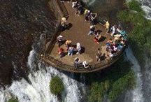 Take Me Back / Places I've been to and liked too much. Iguazú Falls, Valparaíso, Madrid, Budapest, Helsinki...