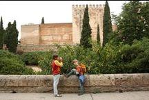 Familienurlaub in Andalusien / Rundreise mit Kindern in Andalusien? Geht hervorragend. Inspirationen und unsere Reisetipps...  #Andalusien #Sevilla #Cordoba #Guadix #Gibraltar #Cadiz