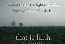 Faith / Anything that comes from the bible