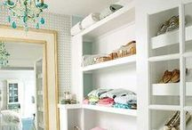 Closets-dressing rooms