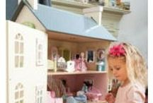 Dolls Houses / Beautiful doll's Houses that will last a lifetime. Big jigs, Le Toy Van, Pintoy and more.  Some classic ideas and products