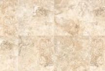 Calypso by Verve / Red Body Ceramic Tile Available in 13x13, 17x17, & 13x17 with Trim, Mosaic & Triangle Decos Available