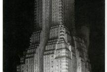 La Metropolis del futuro / la vision del futuro segun la inspiracion de Hugg Ferrys