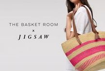 The Basket Room x Jigsaw / For Spring Summer 16, The Basket Room collaborate with fashion brand Jigsaw to create beautiful, spirited and meticulously crafted bags.