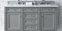 Gray Bathroom Vanities - James Martin