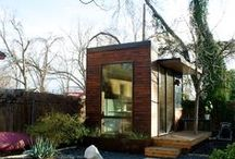 Shipping Container Houses / Shipping container houses, small houses, tiny spaces, and modern architecture