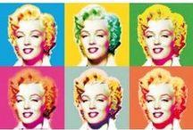 Arte @decoraciondepared / Las obras de arte no siempre vienen enmarcadas o pintadas sobre un lienzo. Tus muros pueden llenarse de obras de arte inspiradoras en forma de #fotomural. Decóralos con arte abstracto, graffitis o las creaciones pop art de Roy Liechtenstein y Andy Warhol.