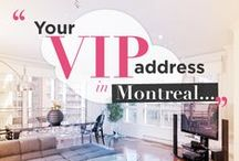 VIP apartment located Downtown Montreal