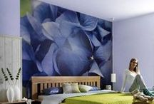 Dormitorios by @decoraciondepared / Encuentra ideas para renovar tu dormitorio con #fotomurales y #vinilos que le darán un aire romántico, relajante o moderno. Queremos inspirarte.