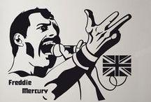 Música y cine @decoraciondepared / Recuerdas cuando decorabas las paredes de tu habitación con los poster de tus cantantes y actores favoritos. Ahora puedes seguir haciéndolo, pero con #vinilos y #fotomurales de artistas del cine y la música. Viste tus paredes con la elegancia chic de Audrey Hepburn, la rebeldía de James Dean, el rock & roll de Elvis Presley, el grunge de Kurt Cobain o los himnos de John Lennon.
