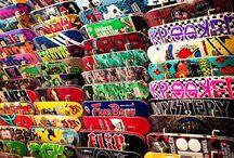 Sk8te boardz / Sk8te boards  / by Alison Woodmansey