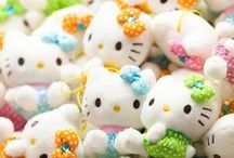 """""""Hello Kitty, My Melody and Friends"""" / by Sherry Pax"""