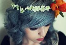 raimbow hair