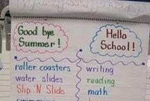 Επιστροφή στο σχολείο - Back to school / Ιδέες για τις πρώτες ημέρες στο σχολείο