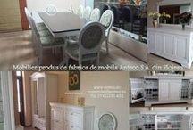 Idei pentru acasă / Mobilier din lemn masiv pentru casa