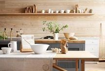 KITCHEN / Colorful and modern kitchen interior design and must-have products. Our favorite gadgets, time-saving products, clever decor, and colorful quirky spaces.
