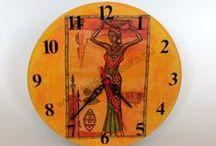 Faliórák (wall clock) / home-made wall clock: http://www.terika.meska.hu