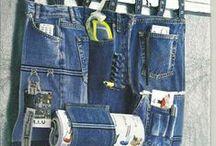 Újrahasznosított farmer (recycled jeans) / recycled jeans