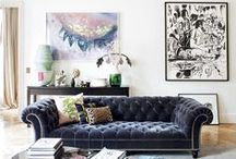 INTERIOR / A collection of inspiration for your dream home: interior design, products for home, unique decor, and awesome spaces.