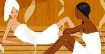 Sauna Steam Room for Healing