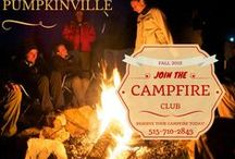 Campfire / Every night is a fun night to enjoy a campfire under a beautiful sky at Pumpkinville.  Don't forget to roast marshmallows and hot dogs!