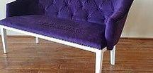 Canapea Denis cu nasturi / Canapea confortabila produsa de fabrica de mobila Anteco din Ploiesti