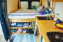 camperbusje / Busje ombouwen / gebruiken als camper
