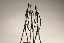Alberto Giacometti / He was a Swiss sculptor, painter, draughtsman and printmaker born