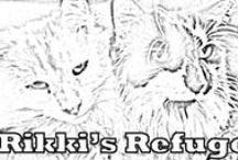 PRINT & COLOR Animals for Kids! / Rikki's Refuge www.rikkisrefuge.org