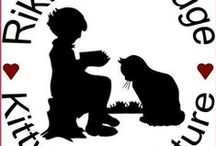 Rikki's Refuge Kitty Litter-Ature / Creating a compassionate world for animals and children through humane education and a reading program that nurtures the animal-human bond.  Program Director - Lolly Busey  Rikki's Refuge  21410 Constitution Hwy.  Rapidan, VA. 22733  www.rikkisrefuge.org www.facebook.com/RikkisReadingProgram