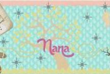 Nana tarjetas y recordatorios