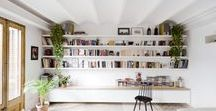 DESIGN | Library / I dream of walls full of books. Ideas for my home library.
