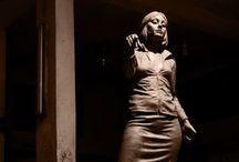 Çamur / Yaptığım heykellerin atölye çalışmalarından birkaç örnek Clay sculpture work