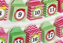 adventní kalendáře, dárková balení