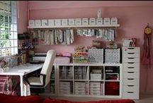 Pracovní koutek / tipy do domácnosti - jak účelně zorganizovat pracovní místo