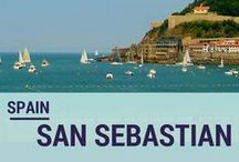 San Sebastian, Spain / Some beautiful pictures and great articles about one of the best cities in Spain. / by From Tourist 2 Local