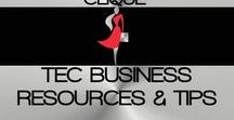 T.E.C BUSINESS RESOURCES & TIPS / WELCOME TO THE ENTREPRENEURESS CLIQUE~ BUSINESS RESOURCES AND TIPS BOARD. ON THIS BOARD, YOU WILL FIND RESOURCES AND TIPS ON STARTING, GROWING, & MAINTAINING YOUR BUSINESS~ NEW RESOURCES AND TIPS WILL BE ADDED WEEKLY~