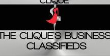 THE CLIQUE'S BUSINESS CLASSIFIEDS / WELCOME TO THE ENTREPRENEURESS CLIQUE~ THE CLIQUE'S BUSINESS CLASSIFIEDS BOARD. THIS IS THE CLIQUE'S BUSINESS PROJECT & SERVICE BOARD. IF YOU HAVE ANY TYPE OF BUSINESS PROJECTS OR SERVICES THAT YOU WOULD LIKE TO MAKE AVAILABLE TO THE CLIQUE, PLEASE CONTACT MISS MILLIONAIRESS AND SHE WILL POST IT! ALL BUSINESS PROJECTS ARE ONLY AVAILABLE TO THE MEMBERS OF THE ENTREPRENEURESS CLIQUE~