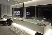 Banheiros elegantes / Banheiros com decoração diferenciada
