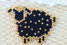 Animal brick stitch