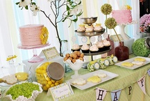 Party Ideas / Entertaining, hospitality, showers, and parties.