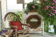 Porches & Patios / I want a huge, wrap around porch!   / by Rachel Johnson