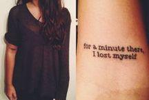 Tattoos / by Chandler Cavanagh