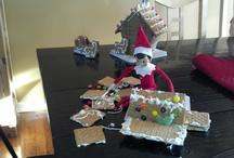 christmas by landon bender\elf on the shelf / by Tiffany Settina