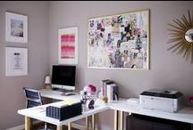 office / Office decor ideas.  / by Sasha Tenorio