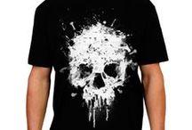 Camisetas / camisetas com estampas legais