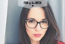 Fan of The Week / Every Friday we'll crown one lucky person Fan of the Week. Tag your stylish pics #VogueEyewear or #StyleMiles on Instagram, you could be the next one! / by Vogue Eyewear
