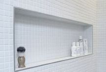Tile - Niches & Benches / Placement, size, and style ideas / by home interiors flooring