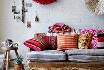 Cozy homes / Pretty spots to put your feet up and relax