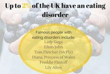 Eating disorders / Eating disorders affect men and women of all ages.  There are several types of eating disorders and they can be powerful 'illnesses', often having devastating emotional and physical consequences.
